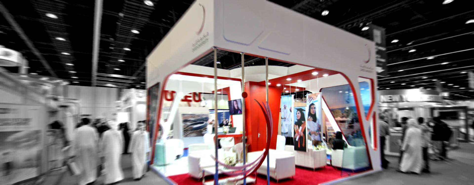 Exhibition Stand Builders In Abu Dhabi : Emirates exhibition services
